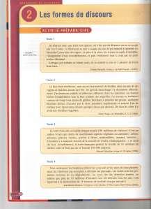 forme du discours p.1