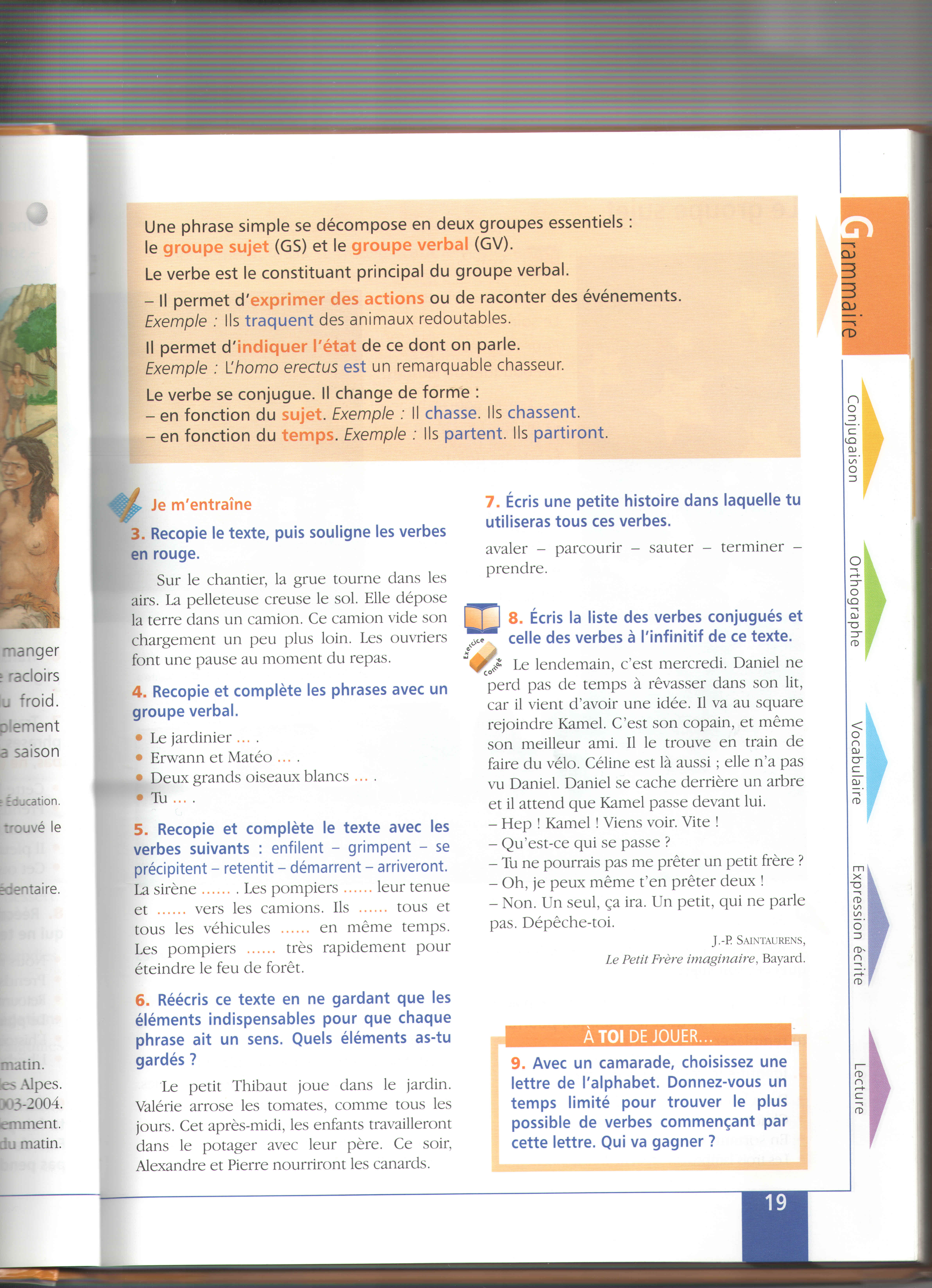 Grammaire ce2 comparaison apprendre autrement for A portee de mots cm1